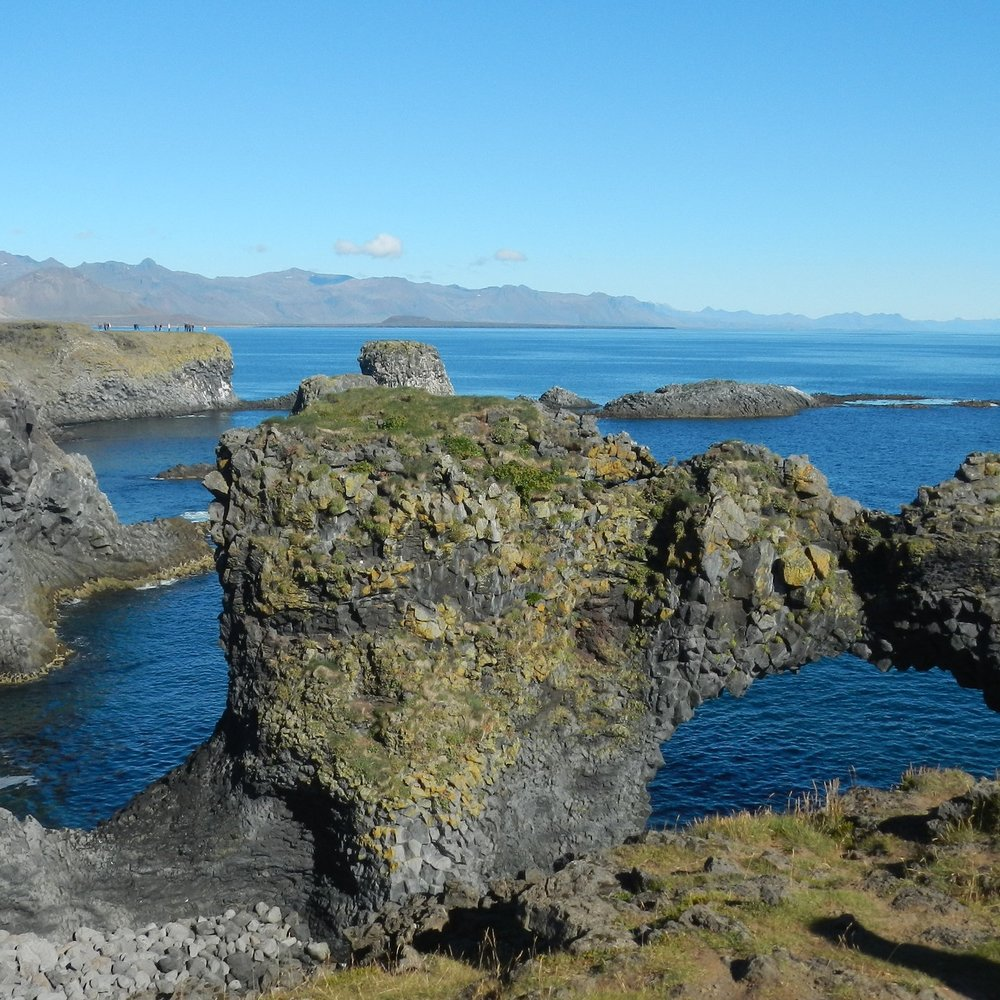 Arnarstapi, Iceland by The Doubtful Traveller