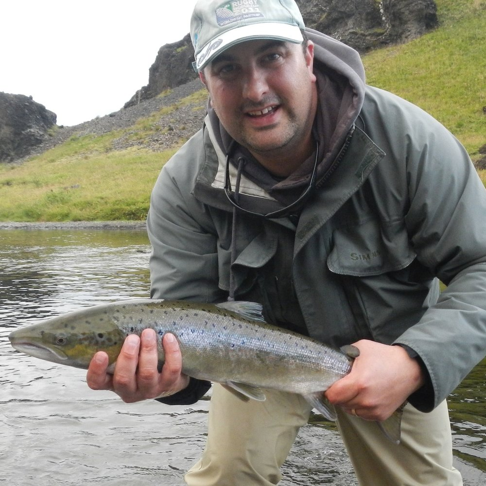 Salmon fishing, Iceland by The Doubtful Traveller