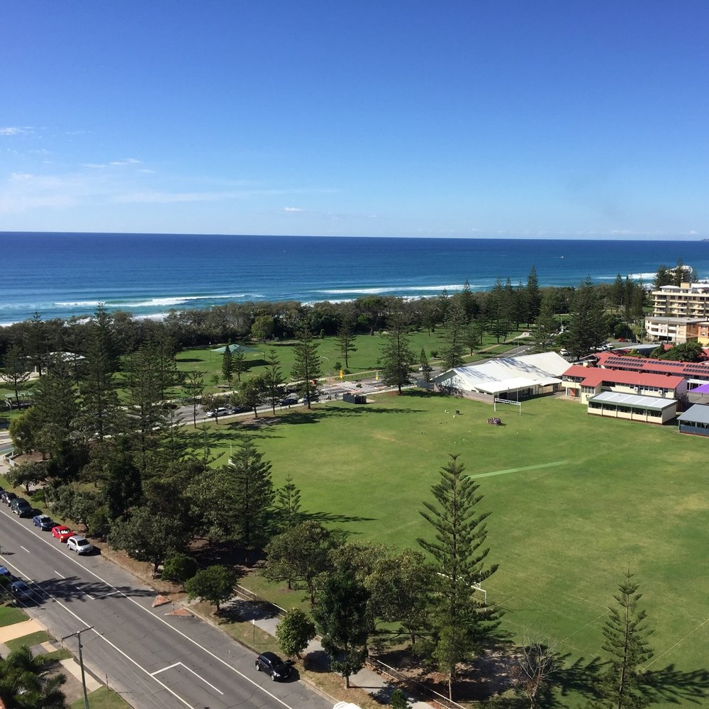 View from Ultra Broadbeach, Surfer's Paradise by Miles Dean for The Doubtful Traveller