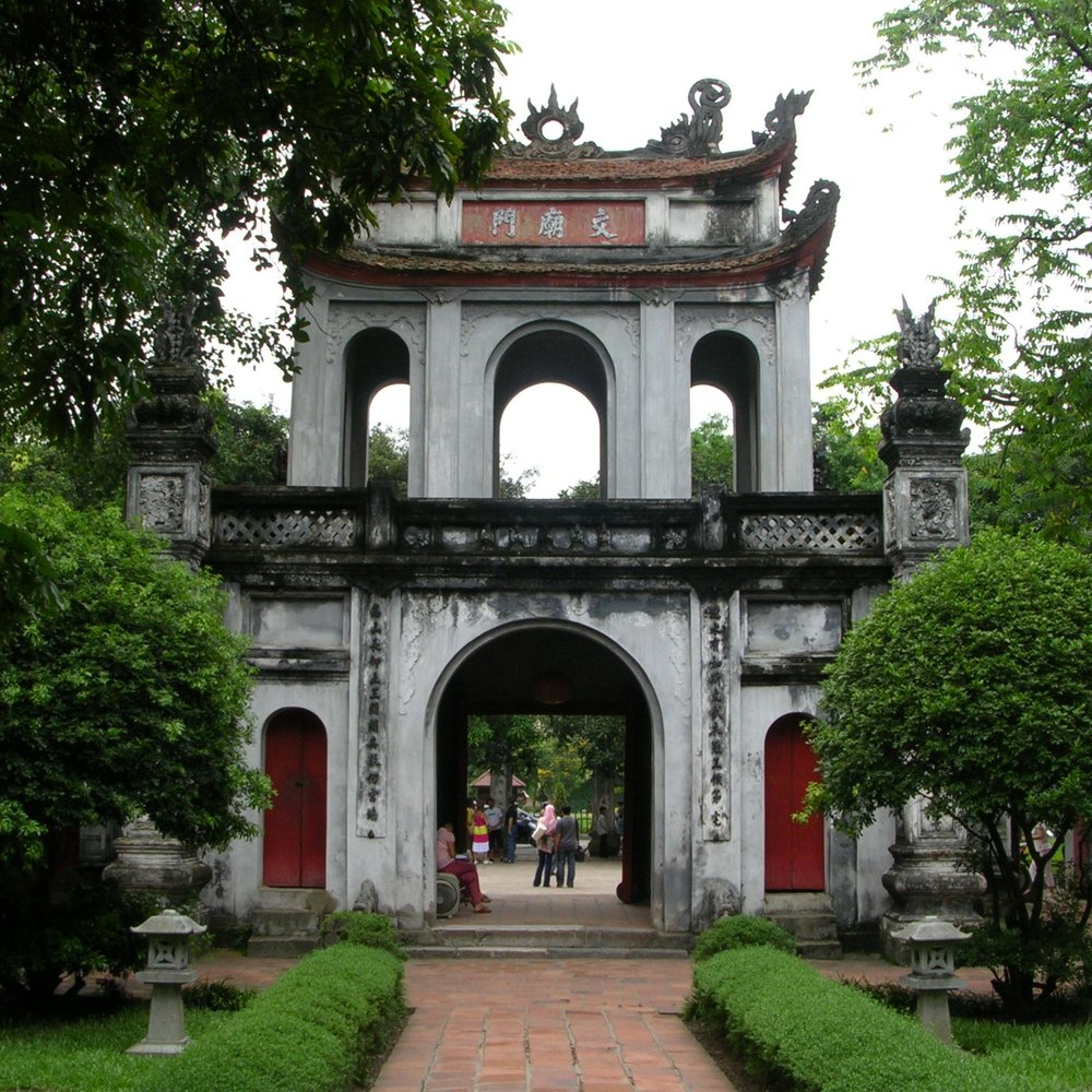 Temple of Literature, Hanoi by The Doubtful Traveller