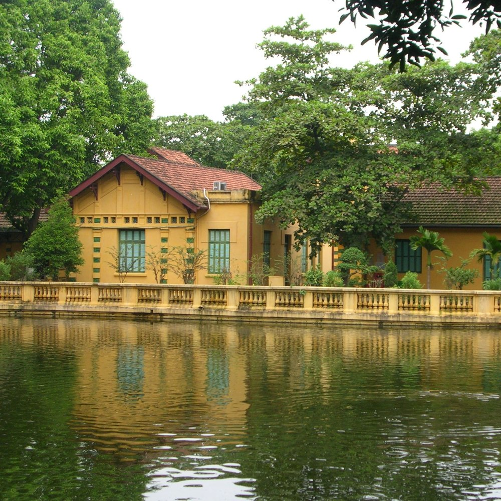 Gardens at the Ho Chi Minh mausoleam complex, Hanoi by The Doubtful Traveller