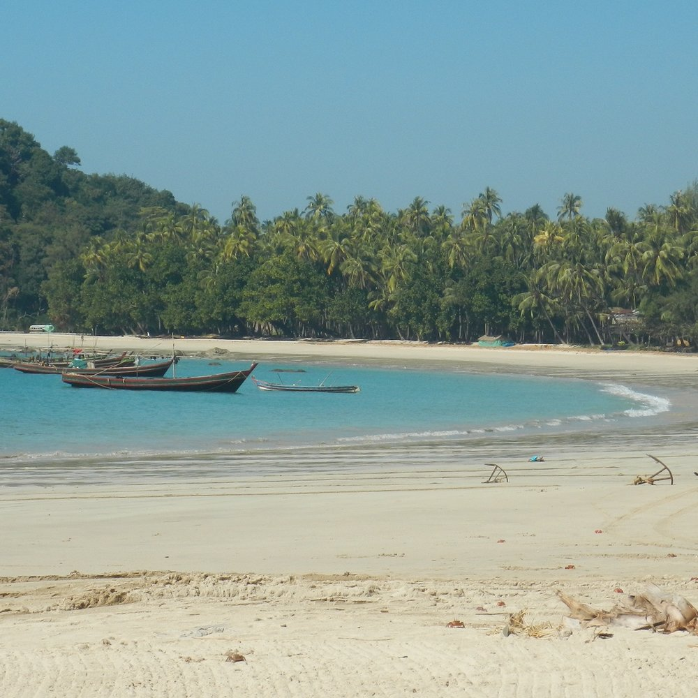 Ngapali Beach, Myanmar (Burma) by The Doubtful Traveller