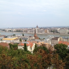 View from Fisherman's Bastion, Budapest by Kevin Nansett for The Doubtful Traveller