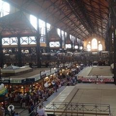 Great Market Hall, Budapest by Kevin Nansett for The Doubtful Traveller