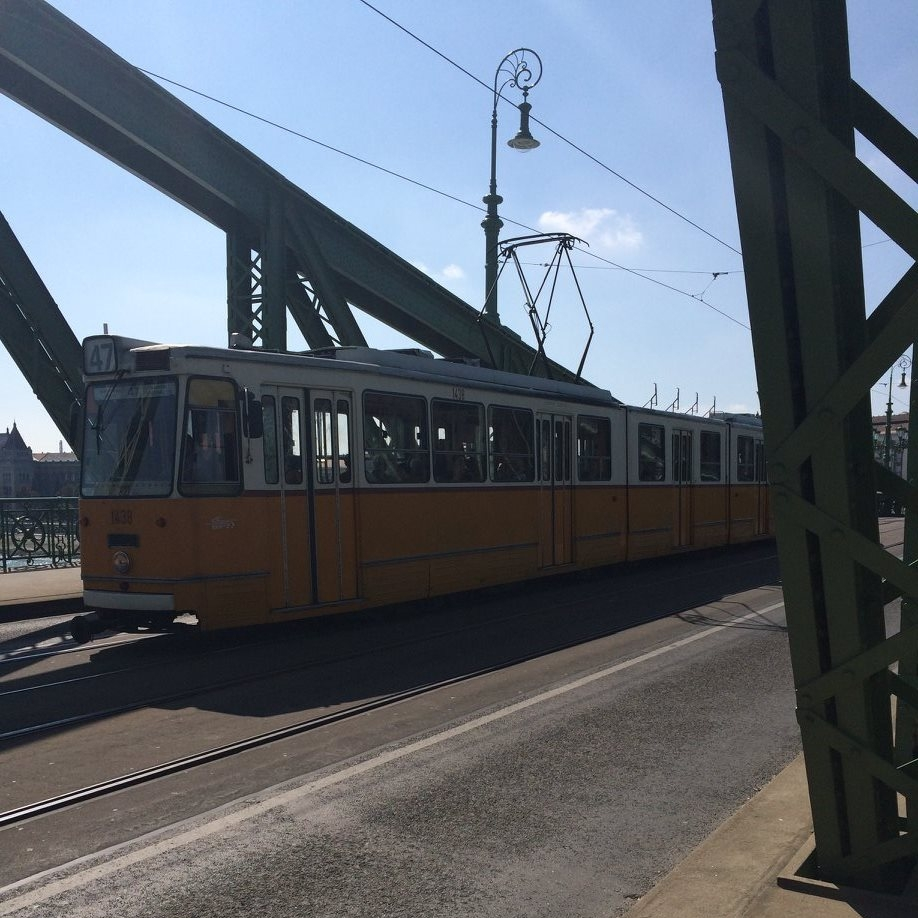 Tram, Budapest by Teresa Amey for The Doubtful Traveller