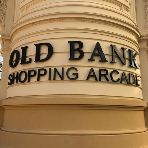 Old Bank Arcade, Wellington by The Doubtful Traveller