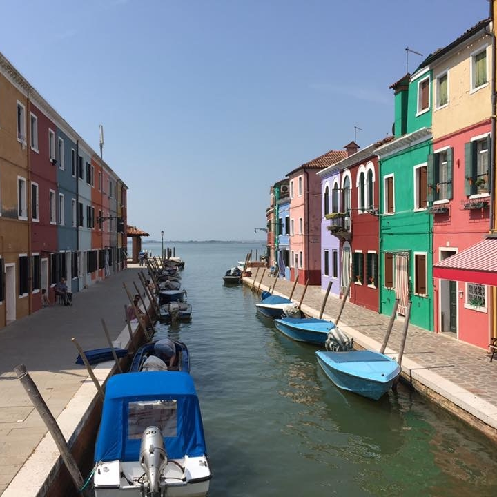 Burano, Venice by Kevin Nansett for The Doubtful Traveller