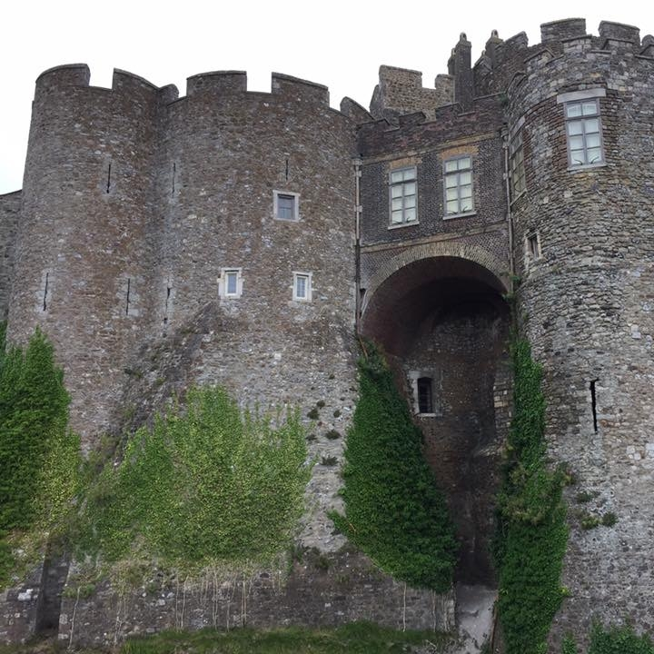 Dover Castle by Kevin Nansett for The Doubtful Traveller