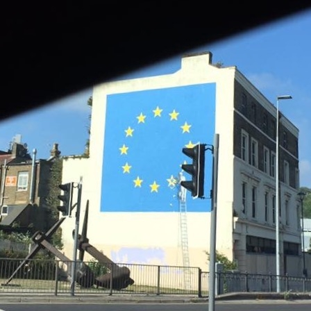 Banksy, Dover by Kevin Nansett for The Doubtful Traveller