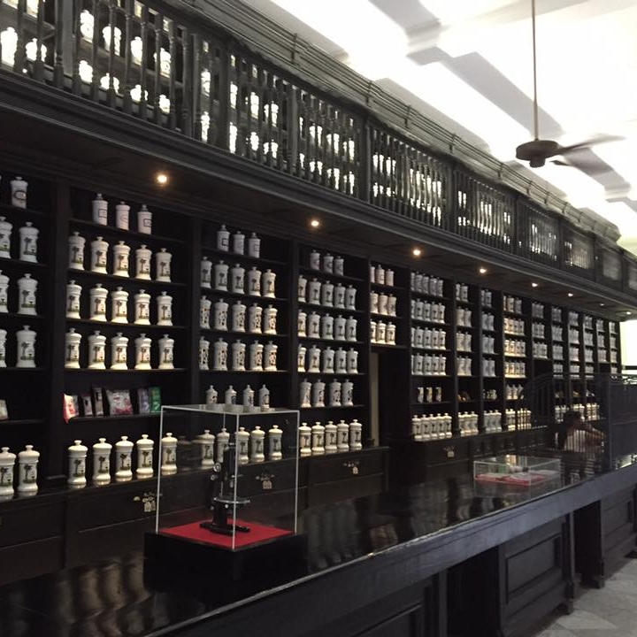 Apothecary in Old Havana by Kevin Nansett for The Doubtful Traveller