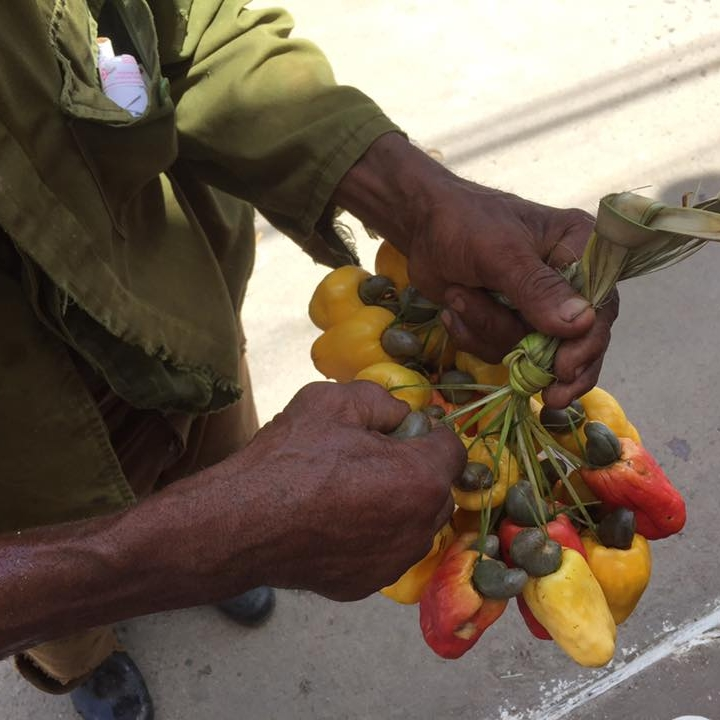 Cashew nut seller, Havana by Kevin Nansett for The Doubtful Traveller