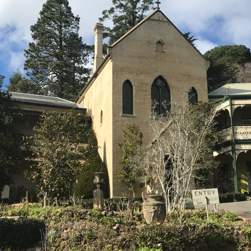 Side trip from Melbourne: Convent Gallery, Daylesford by The Doubtful Traveller