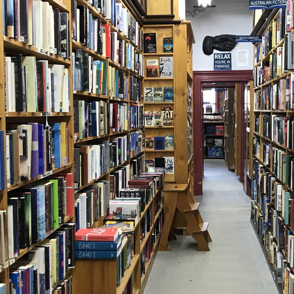 Side trip from Melbourne: Paradise bookshop, Daylesford, by The Doubtful Traveller