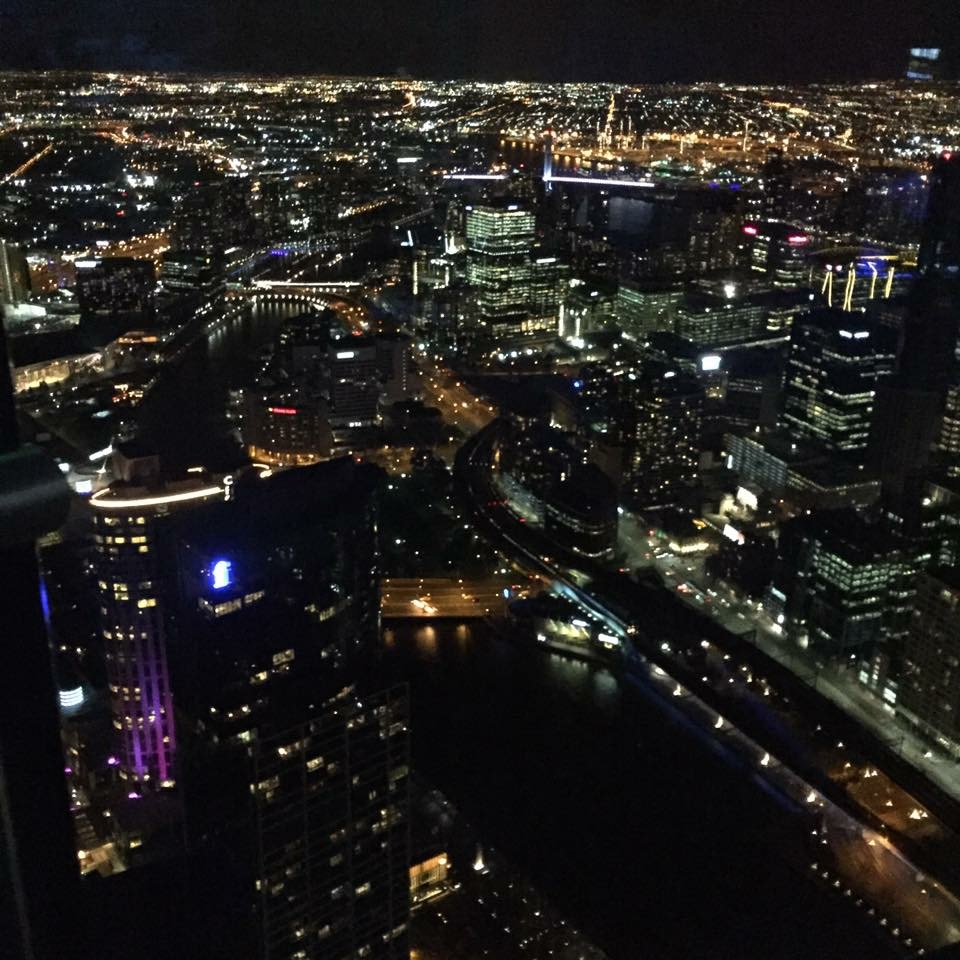Views from the 'Edge' at the Eureka Skydeck, 279m above Melbourne by Fran Schofield for The Doubtful Traveller
