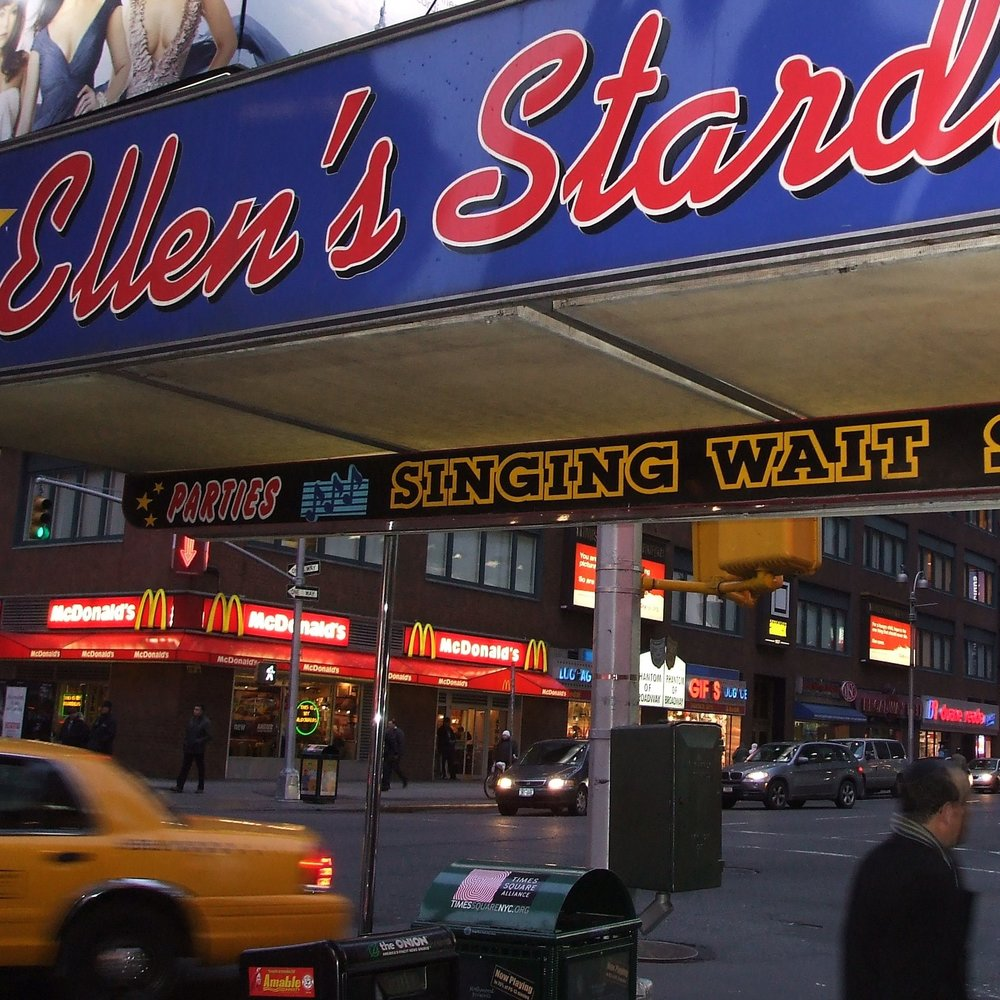 Copy of Ellen's Stardust Diner, New York by Zara Mansoor for The Doubtful Traveller