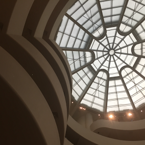 Guggenheim Museum, New York by Eleanor Currier for The Doubtful Traveller