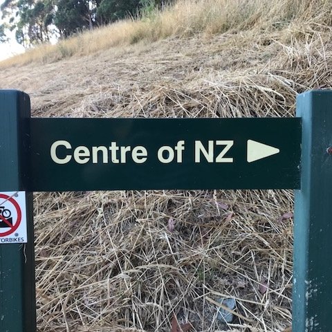 Centre of New Zealand, Nelson. The Doubtful Traveller