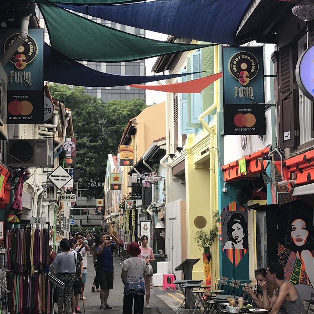 Haji Lane, Singapore by The Doubtful Traveller