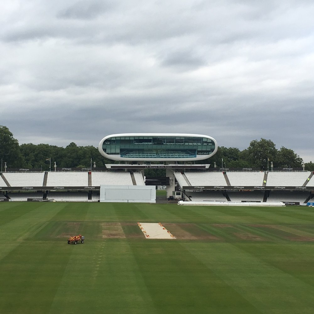 Lord's cricket ground, London. The Doubtful Traveller