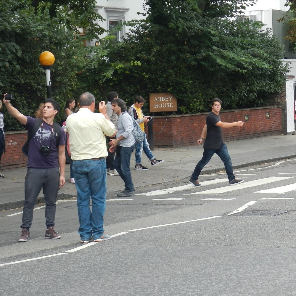 Abbey Road, London. The Doubtful Traveller