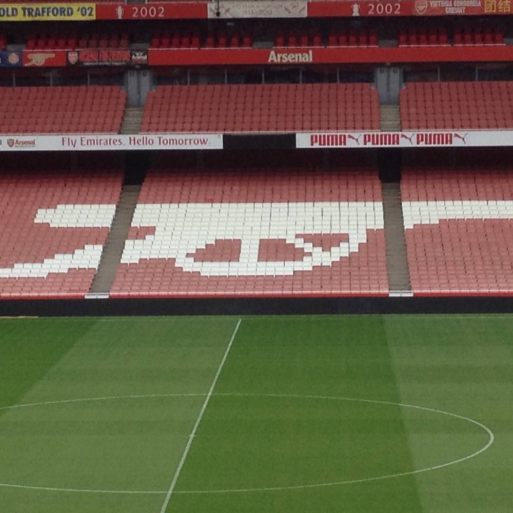 Emirates Stadium, home of the Arsenal football team, London. The Doubtful Traveller