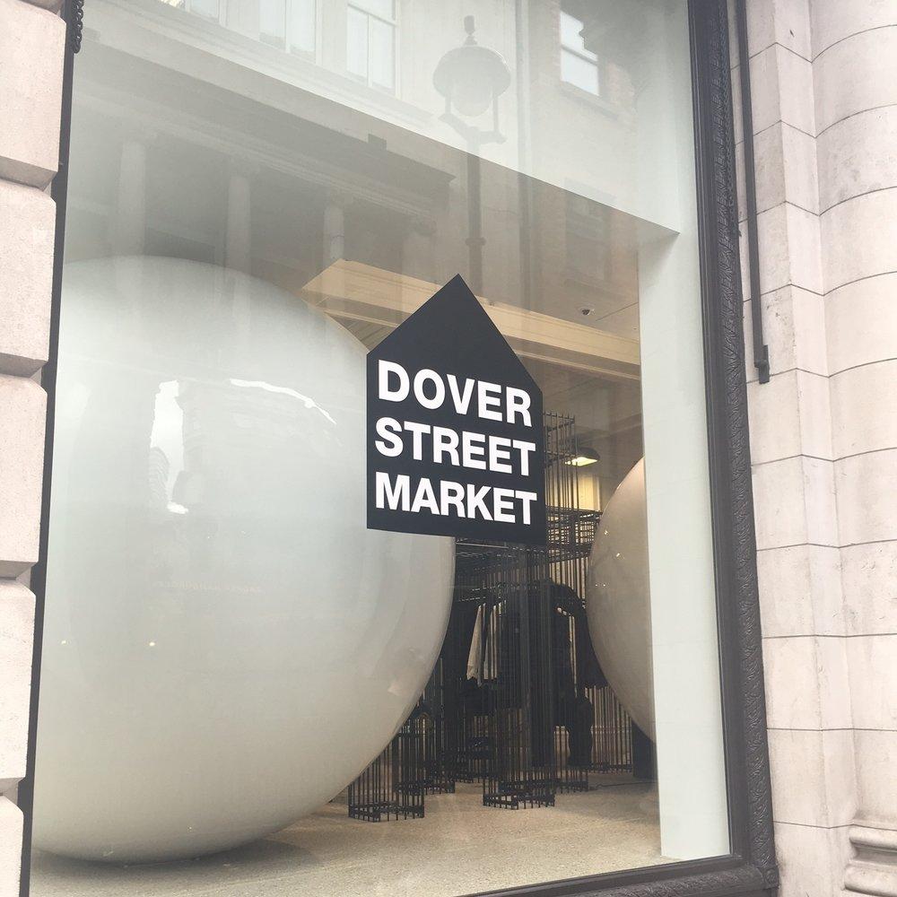 Dover Street Market, London. The Doubtful Traveller