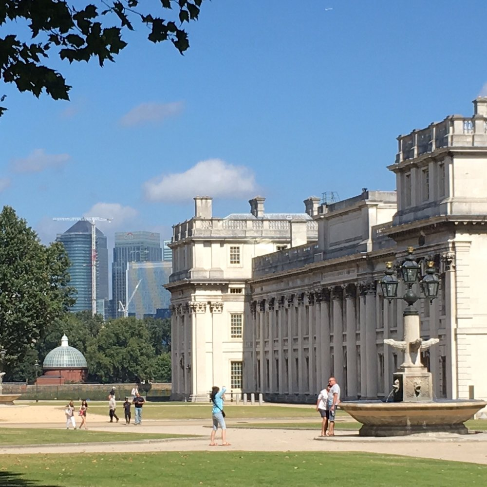 Royal Naval College, Greenwich, London. The Doubtful Traveller