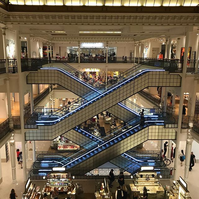 Off to Paris but don't like museums and art galleries? Go shopping! Paris's department stores, like Le Bon Marche, are incredible. And we love digging around in the boutiques in the city's side streets. Every designer, either pricey or high street, is found in Paris. www.doubtfultraveller.com/paris #travel #paris #lebonmarche #traveltips #traveladvice @doubtful_traveller