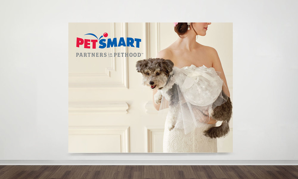 PetSmart Bridal Tradeshow Creative booth design Bridal Expo New York City