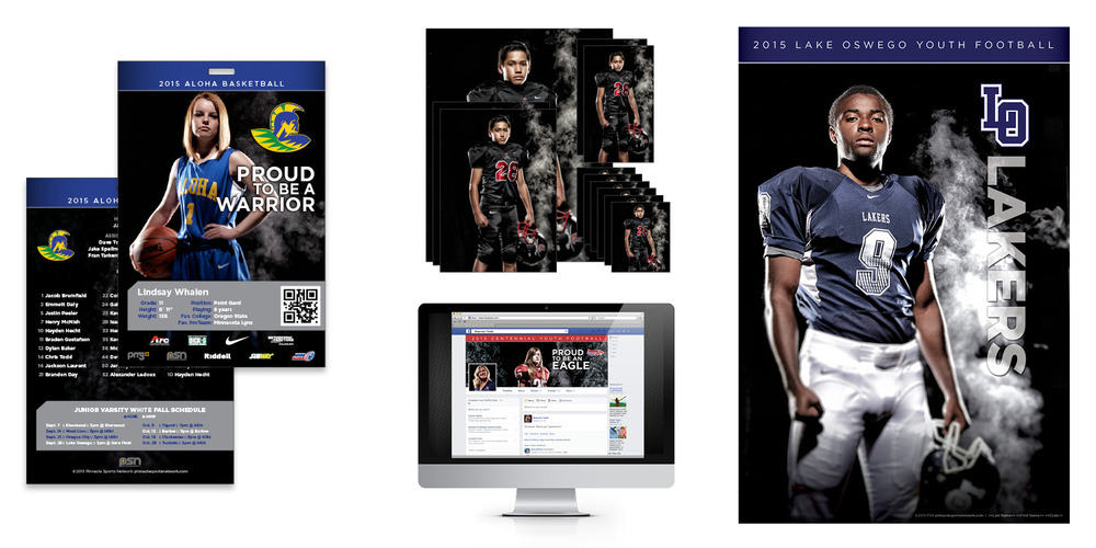 PSN TVYFL Sports Marketing Program Marketing Strategy Creative mobile application outdoor signage