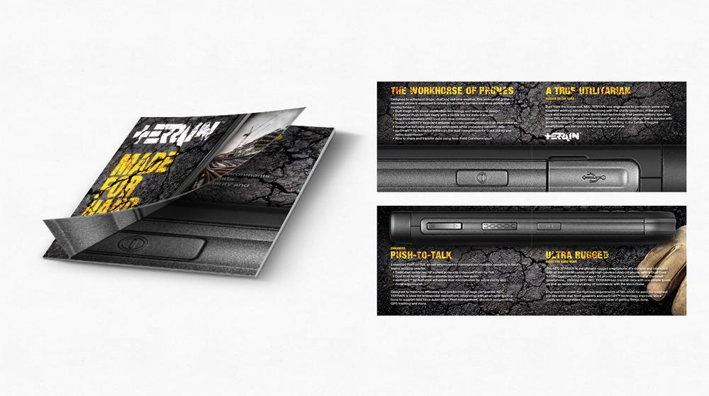 NEC Terrain Website Design Integrated Campaign Creative Packaging Design