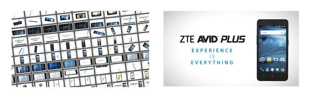 ZTE Avid PlusDemo Sizzle Video Integrated Campaign