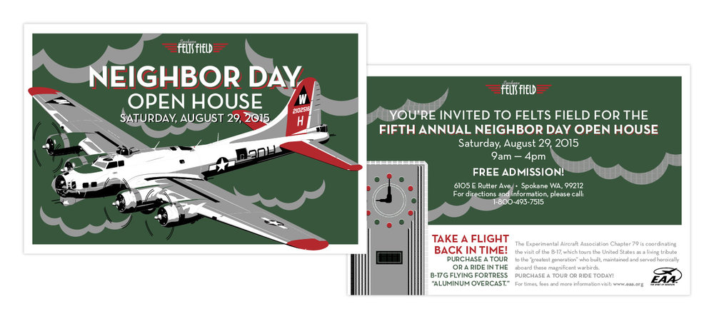 Spokane International Airport Felts Field Neighbor Day Community Event Brand Awareness