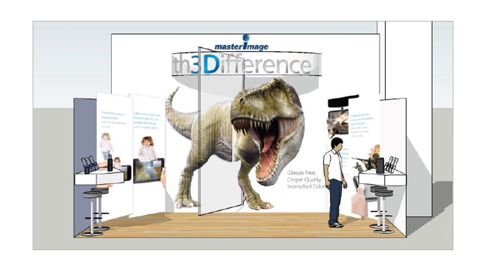 MasterImage 3D Trade Show Strategy Creative design