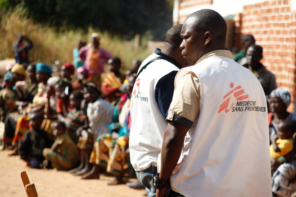 MSF aids IDP's in CAR