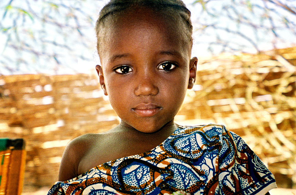 Niger Village Girl