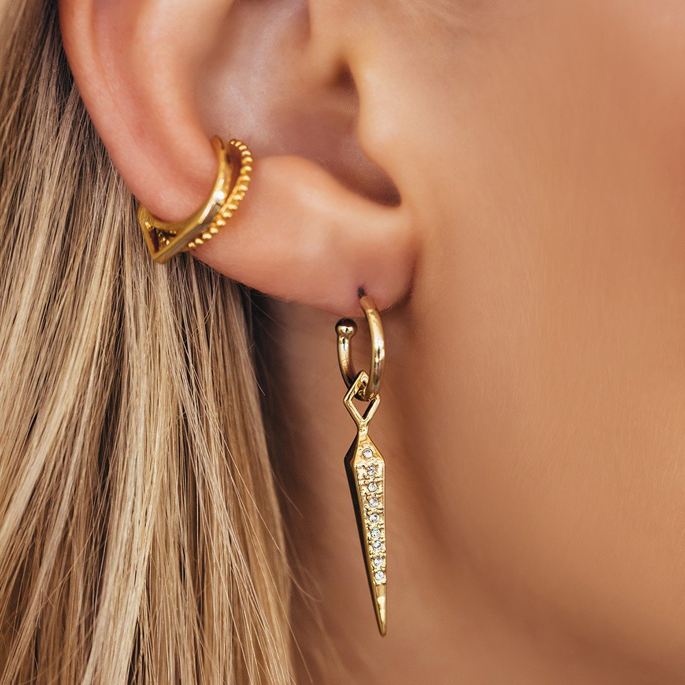 model kite iconery style aj gold luv hook emerald street earrings lifestyle products