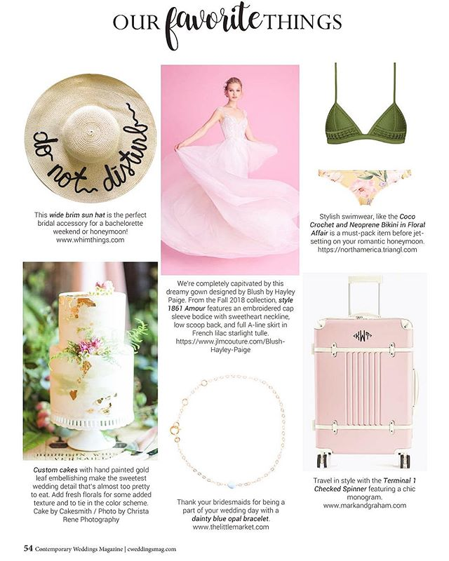 Our DO NOT DISTURB hat was featured in @contemporaryweddingsmagazine's fall/winter 2018 issue! Now on newsstands in NJ & NY!!! . . . . . #magazinefeature #weddingmagazine #donotdisturb #donotdisturbhat #hatstyle #bridehat #bridalgifts #bridalgift #bridegiftideas #featured #magazines #whimthings #published #weddingideas #magazinefeature #contemporaryweddingsmagazine #favoritethings #whimthingshat #honeymoonhat #honeymoonstyle #bridestyle #cweddingsmag #customhat #customhats #magazinefeature #weddinginspirations #dailyweddinginspo #weddinginspo #brideinspo