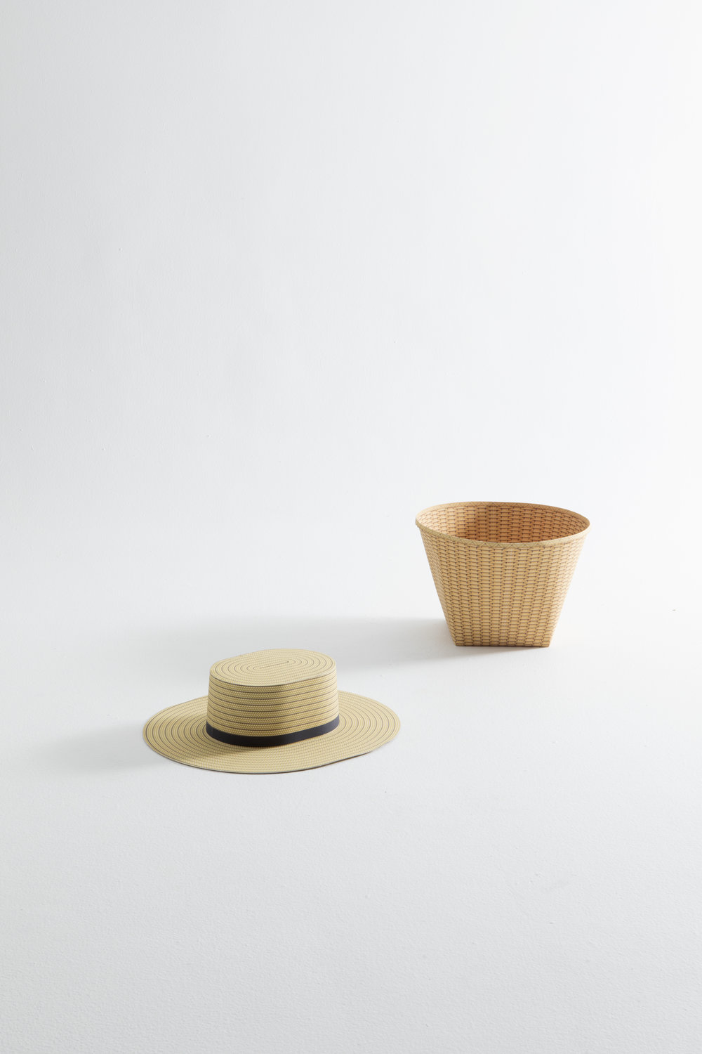 Chris Specce paper basket and hat1.jpg