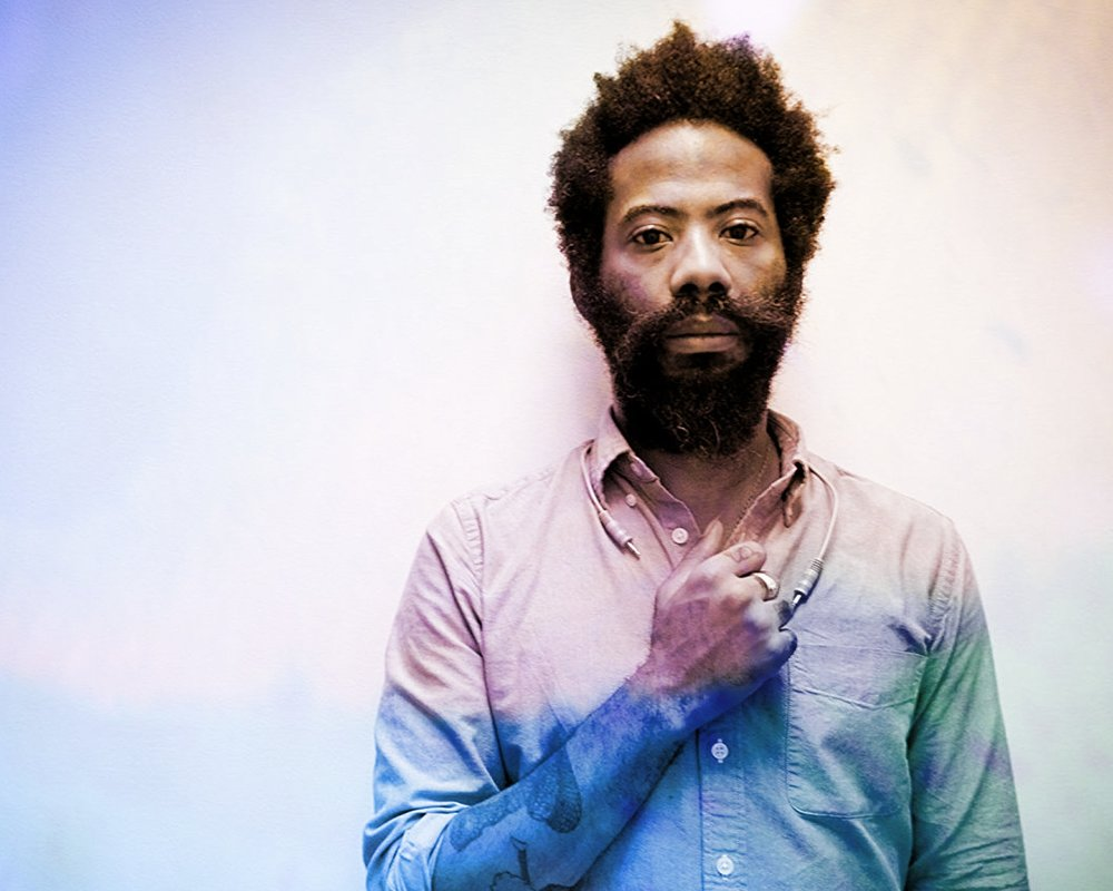 Robert Aiki Aubrey Lowe (New York NY) - Robert Aiki Aubrey Lowe (b. 1975) is an artist and multi instrumentalist that works with voice in the realm of spontaneous music often under the moniker of Lichens. Most recently, creating patch pieces with modular synthesizer and singing to them has been a focus of live performance and recordings.Quality of sound through the marriage of synthesis coupled with voice has allowed for a heightened physicality in the way of ecstatic music, both in a live setting and recorded. The sensitivity of analogue modular systems echoes the organic nature of vocal expression which in this case is meant to put forth a trancelike state. To usher in Deep Listening through sound and feeling. Losing one's self in sound while being acutely self aware.By way of a recent meeting and collaboration with artist Patrick Smith, Robert has begun to utilize projections with live performances. The current video piece is called