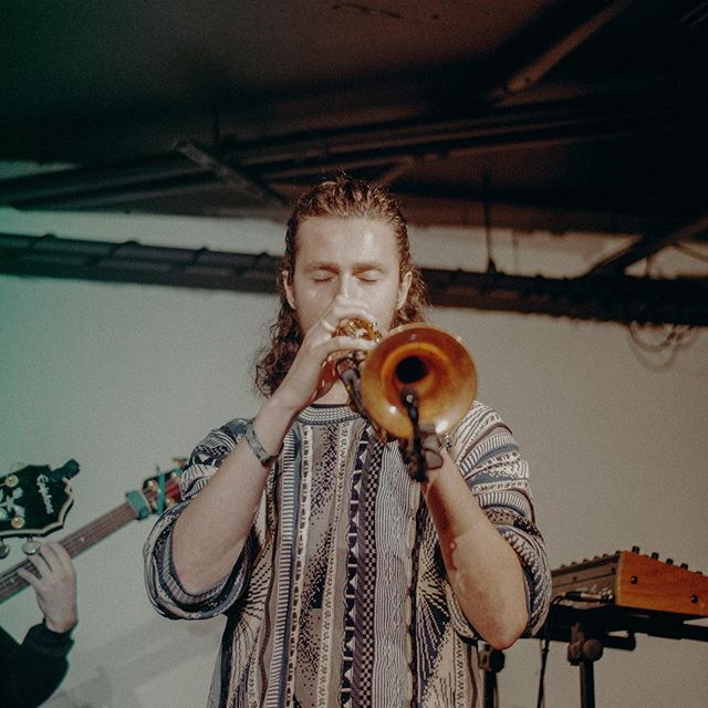 I've been closing my eyes more when I play lately.  I used to think trumpet players just did that for the theatrics of it, but I find it quiets the mind and helps me put 100% into what I'm playing.  Anyway, here's to @kayablaze she's really great at what she does.