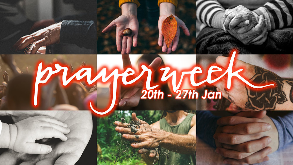 Prayer Celebration - Sunday 20th, 7pm. Woodlands Group of Churches Prayer Celebration at Woodlands. We'll be joining with our wider family for a special prayer gathering to kick off Prayer Week! We will be spending some time praying together for our church, city and world.