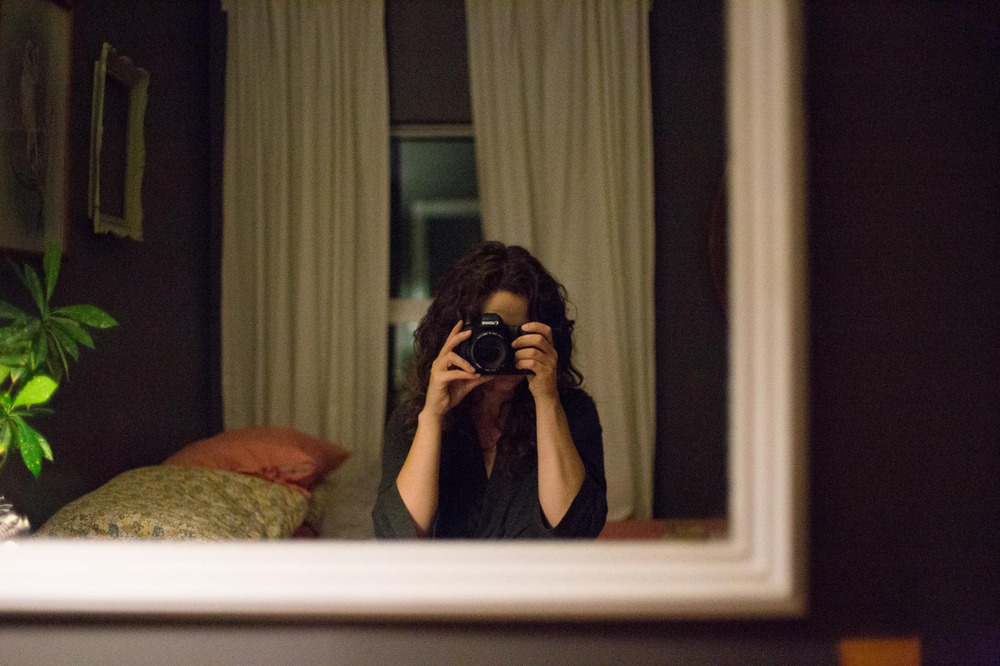 Self Portrait | Los Angeles | October 2013   Canon 6D 25,600iso f/1.4 - that grain though.