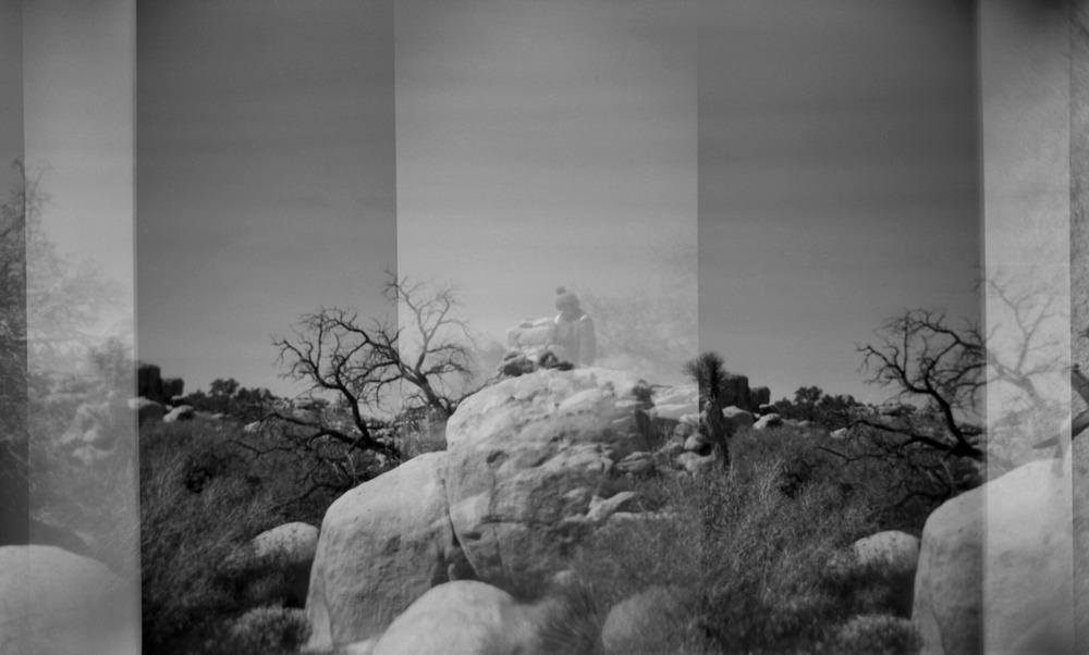 Xander Brody | Joshua Tree   Multi exposure triptych, Joshua Tree