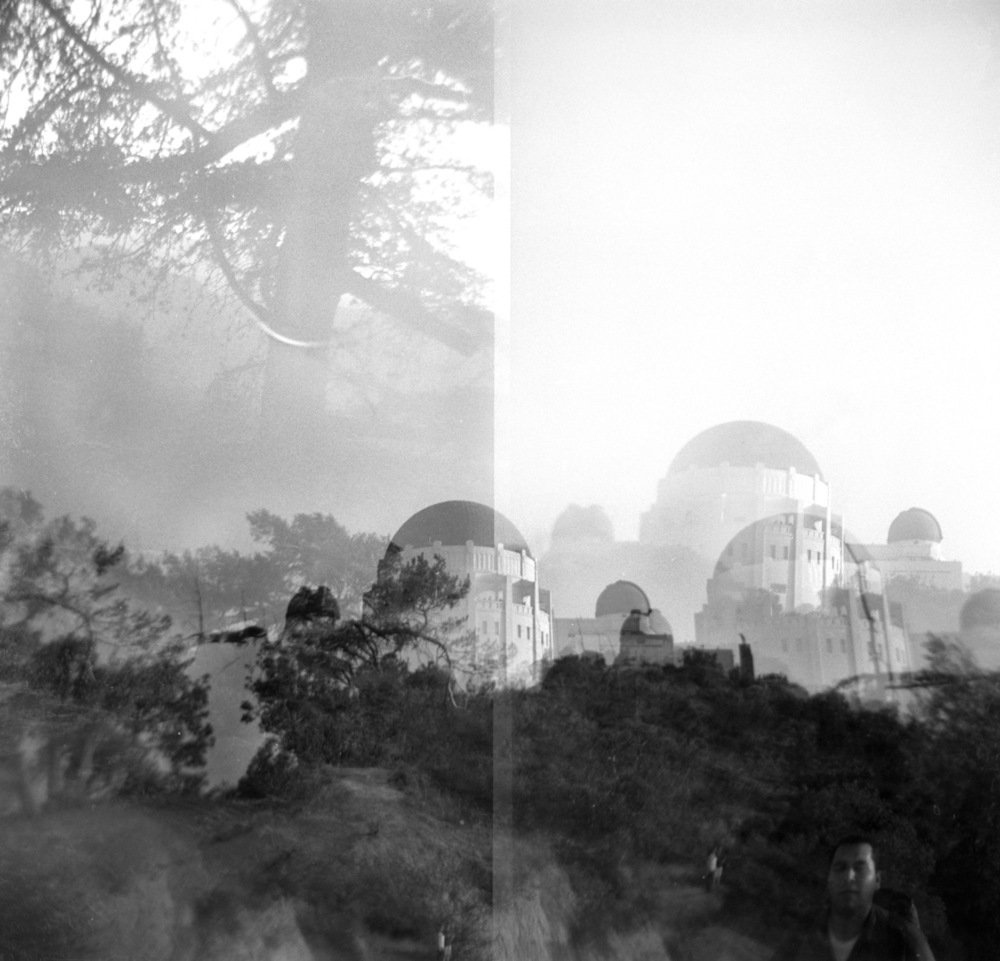 Griffith Park in late afternoon   Holga, August 2012