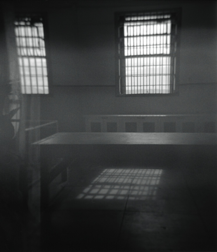 Somewhere inside Alcatraz, April 2012   Holga, Tri X 400