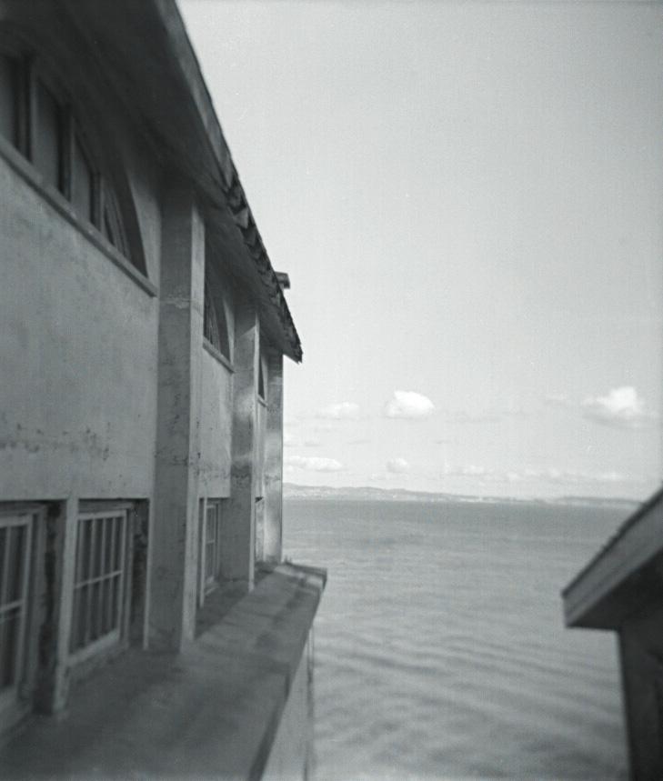 Alcatraz, April 2012   Holga, Tri X 400