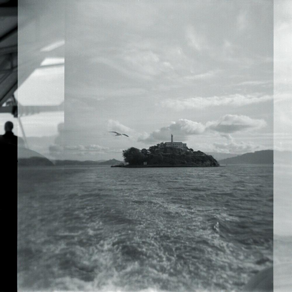 Alcatraz Island, April 2012   Holga, Tri X 400