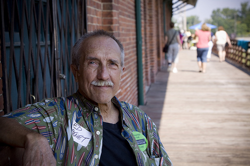 Ed Penet was a single parent living in Ann Arbor when he attended a jazz concert being held at the Freighthouse in Ypsilanti's Depot Town. It was there he met his wife, Bonnie. Ed and has been in Ypsi for 25 years, raised his son here and is now a trustee of the Freighthouse in Ypsilanti and chairman of the building committee. He and his colleagues have worked through many obstacles to get funding for the preservation of the Freighthouse and have succeeded. Plans for Amtrak to have a depot in Ypsi are set for 2011.   Ypsi Project : Ed Penet (via  ericarhiannon )