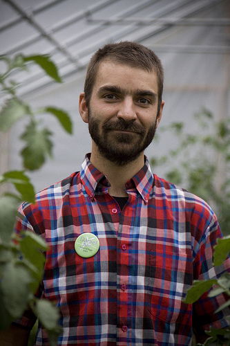 Ypsi Project : Daniel Bair (via  ericarhiannon )   I met Daniel at a    Growing Hope  fundraiser. He is the farm manager and works closely with lots of wonderful volunteers. Because of Daniel and the people he works with our local communities are gaining knowledge and access to gardens and healthy food.